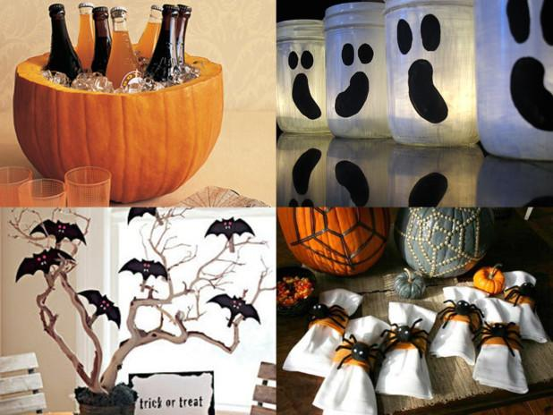 Ideas para decorar tu buffet de halloween paperblog for Decoracion mesa halloween
