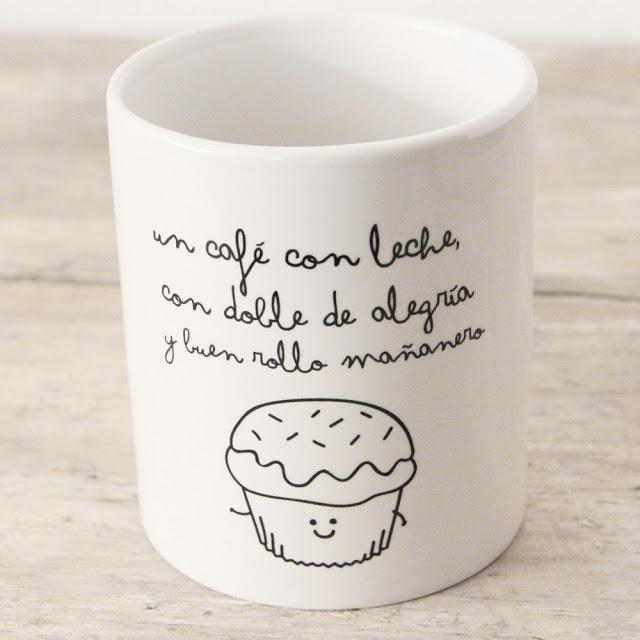 Tazas para el caf mr wonderful paperblog for Taza de cafe con leche