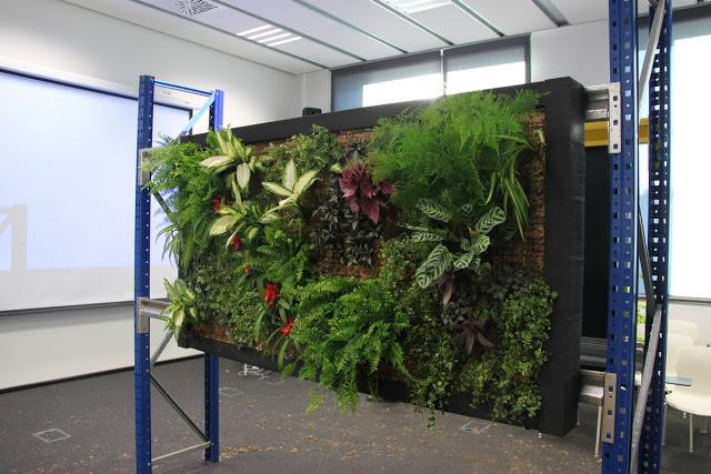 Curso de jardines verticales en madrid paperblog for Jardines verticales precios