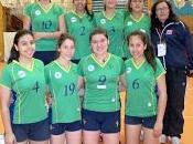 Vóleibol damas sub18: metropolitana arica parinacota avanzan cuartos