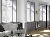 Apartamento nórdico blanco gris