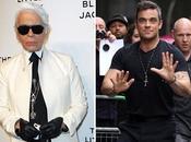 Robbie Williams tiene miedo diseñador Karl Lagerfeld