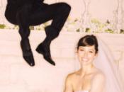 Jessica Biel casó vestido rosa Giambattista Valli