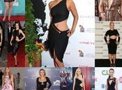 celebrities apuestan vestidos cutout