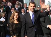 Video fotos Reina-Principes-Premiados-Famosos 1.400 invitados Premios Principe Asturias 2012 Oviedo minuto aparicion