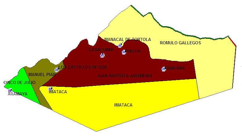 La Sierra de Imataca y Municipio Casacoima
