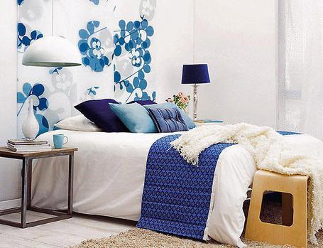 Cabeceros originales para el dormitorio paperblog - Cabecero papel pintado ...