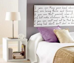 Cabeceros originales para el dormitorio paperblog - Pinturas originales para dormitorios ...
