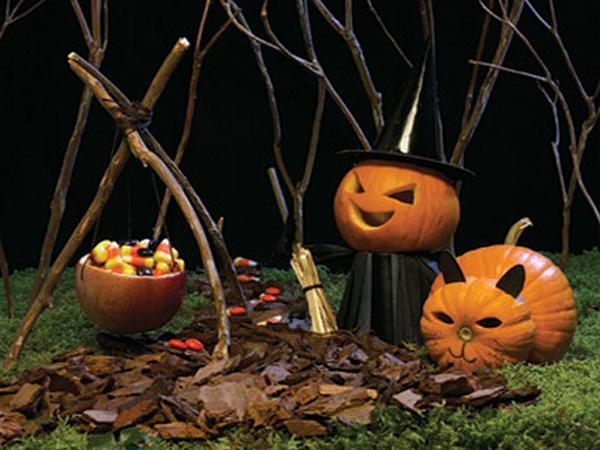 Decoraci n de tu jard n en halloween paperblog for Jardin halloween