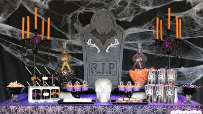 Especial halloween ideas para decorar tu mesa halloween for Decoracion mesa halloween