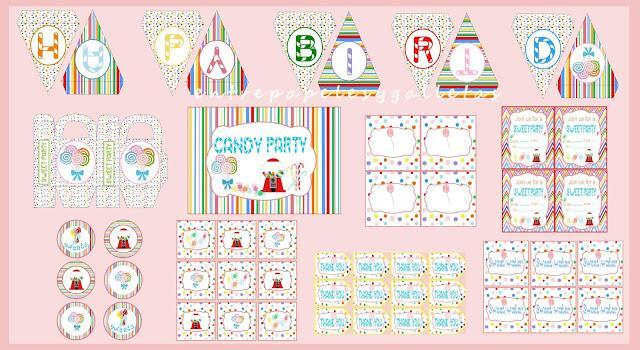 Foto El Kit Consta De Banderines Happy Birthday Cartel De Bienvenida