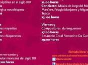 Encuentro Universitario Canción Mexicana Fonoteca Nacional