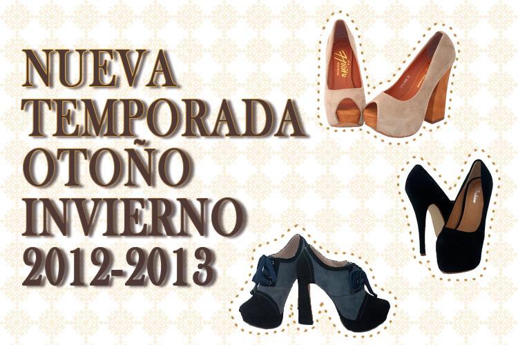Tendencias de moda calzado otoño • invierno 2012/2013: Mujeres