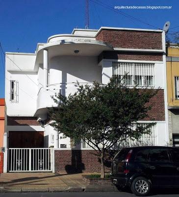 Fachada De Una Casa Moderna Entre Medianeras Paperblog