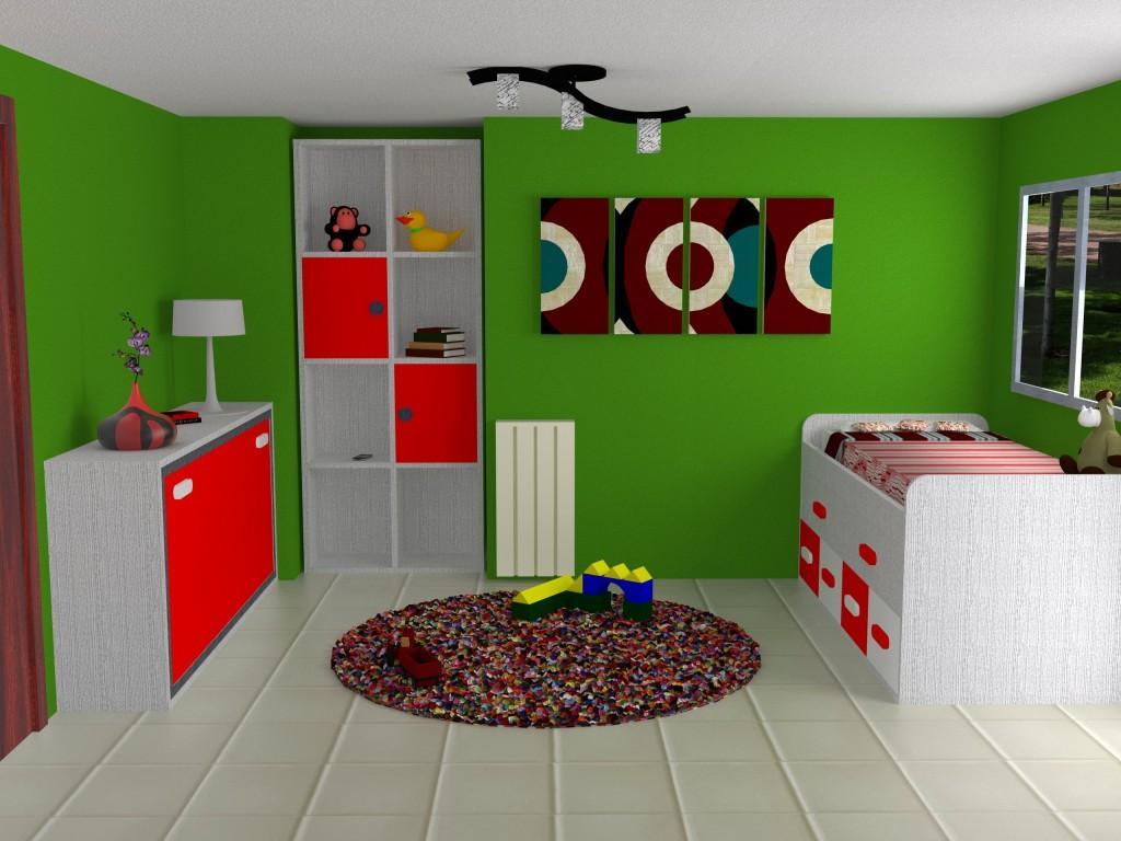 D nde caben dos caben tres dise o 3d habitaci n juvenil for Programa diseno habitacion juvenil