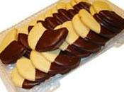Galletas mantequilla chocolate