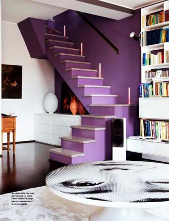 Como decorar una escalera con protagonismo paperblog for Como decorar una escalera