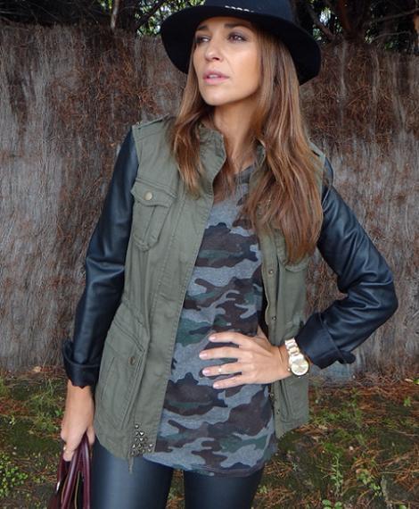 Combinaciones de moda 2013: mujer