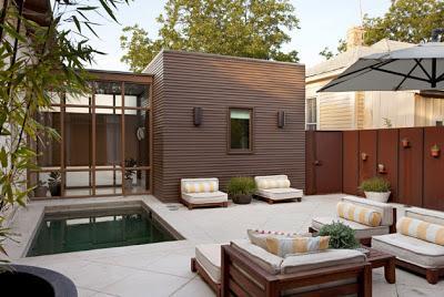 Patios modernos i paperblog - Decoracion patios pequenos modernos ...