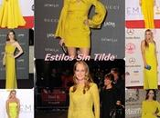 Tendencias Vestidos Fiesta: Apuesta color amarillo
