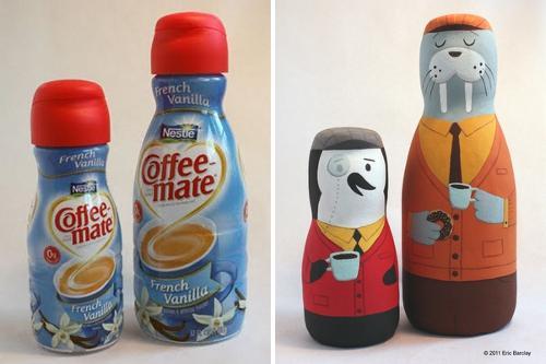 reciclaje ilustracion creativa eric barclay