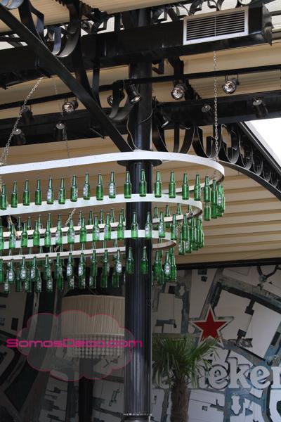 Adornar el techo con botellines de cerveza paperblog - Decorar el techo ...