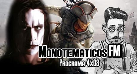 4x08 ( Assassin's Creed III Liberation, The crow, entrevista a Alfonso Zapico - autor de Dublinés-...)