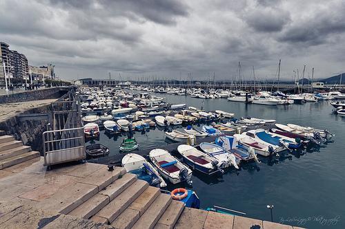 D as de lluvia bordeando el mar paperblog - Club nautico santander ...