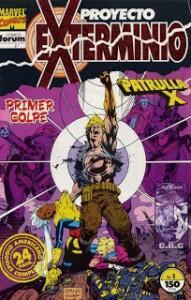 X-MEN: PÍCARA, FRANKLIN Y PROYECTO EXTERMINIO