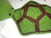 Tortuga crochet bebé