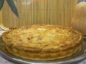 Quiche calabacín, champiñones queso panceta