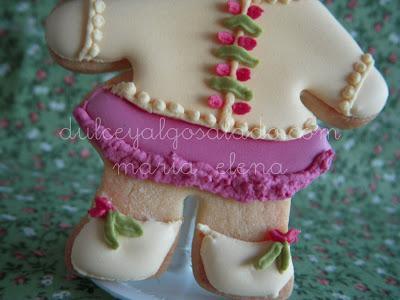 Galletas decoradas..niña!!!