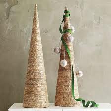Árbol de Navidad de Cartón y Cuerda
