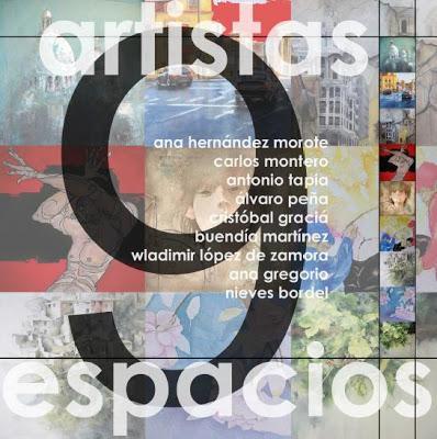 Nueve espacios, Nueve artistas, en el Museo de la Universidad de Murcia