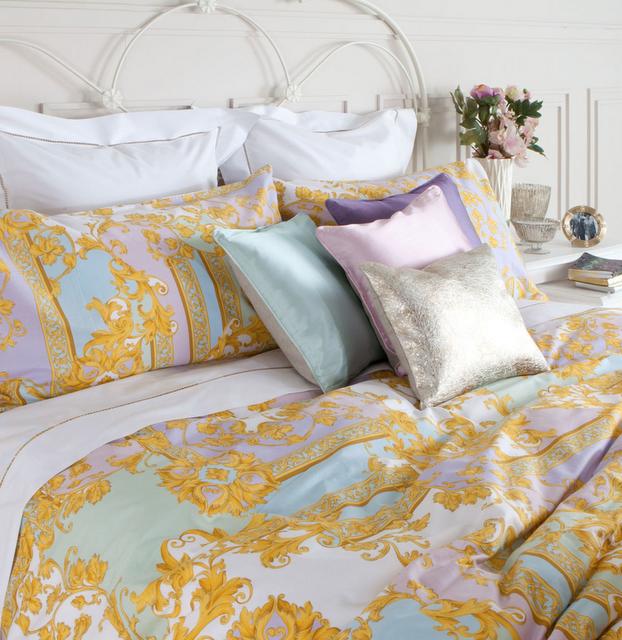 Hoy me gustan estos detalles decorativos paperblog - Colchas de lujo ...