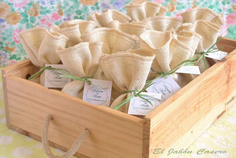 B lsamos y jabones detalles de boda hechos a mano paperblog - Detalles para regalar en boda ...