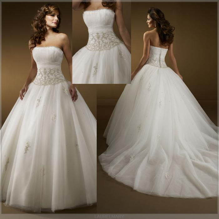 fotos de vestidos de novia estilo princesa - paperblog