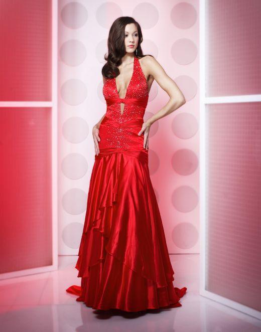 Fotos De Vestidos Rojos Elegantes Paperblog