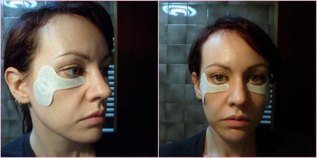 La máscara para la persona la yema de huevo el aceite de oliva