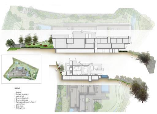 propuesta de paisajismo para el proyecto de vivienda
