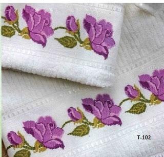 Kits de toallas a punto de cruz