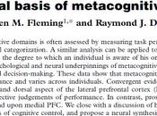 bases neuronales habilidad metacognitiva Fleming Dolan