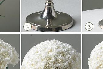 C mo hacer un centro de mesa original paperblog - Como mantener la casa limpia y perfumada ...