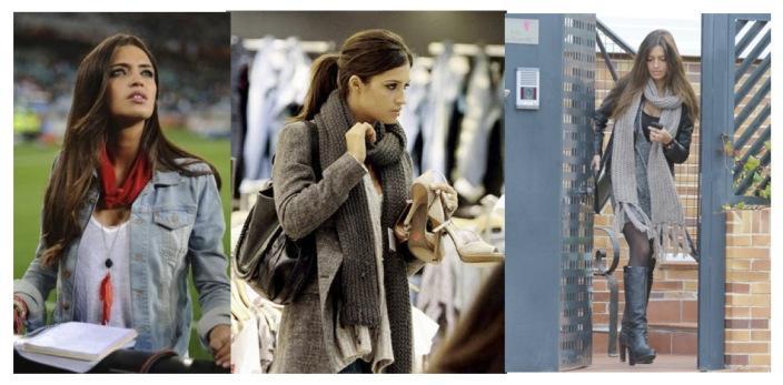 Las bufandas de Sara Carbonero