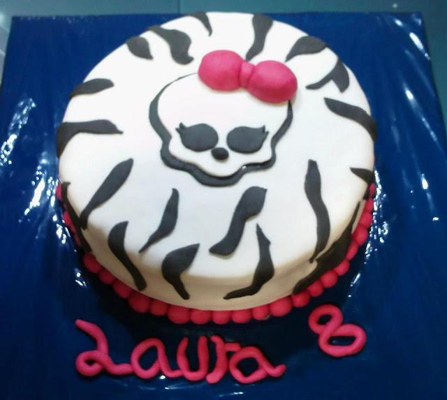 TARTA MONSTER HIGH POR ENCARGO