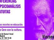 recortes educación: Seminario Sigmund Freud gratuito.