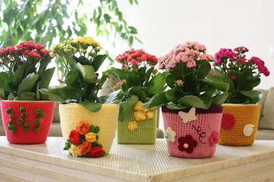 Ideas para decorar macetas jardiner a - Decoracion de macetas de plastico ...