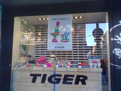 La tienda de moda: Tiger