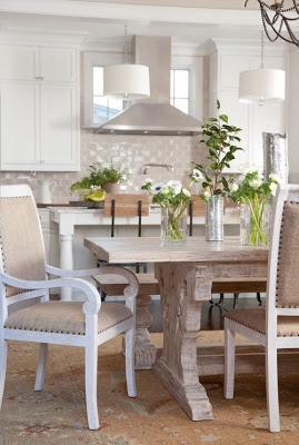 Grandes mesas de madera r stica paperblog for Mesas rusticas grandes