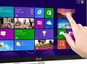 presenta moderno monitor Touch optimizado para Windows